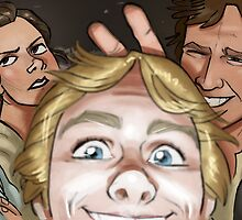 Star Wars selfie series: #1 by livielightyear