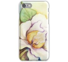 A Pair of Creamy White Southern Magnolias iPhone Case/Skin