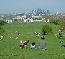 Greenwich Park on Holiday by TimHatcher