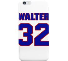 National football player Walter Abercrombie jersey 32 iPhone Case/Skin