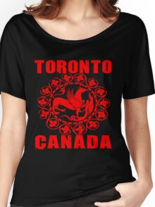 TORONTO, CANADA-3 Women's Relaxed Fit T-Shirt