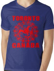 TORONTO, CANADA-3 Mens V-Neck T-Shirt
