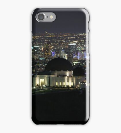 City of Angels - Los Angeles Nighttime Skyline iPhone Case/Skin