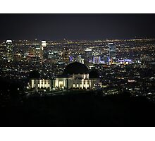 City of Angels - Los Angeles Nighttime Skyline Photographic Print