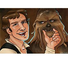Star Wars selfie series: #2 Photographic Print