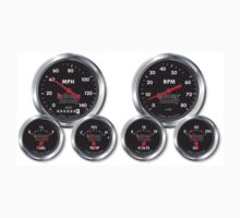 Racing Gauges by Tony  Bazidlo