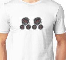 Racing Gauges Unisex T-Shirt