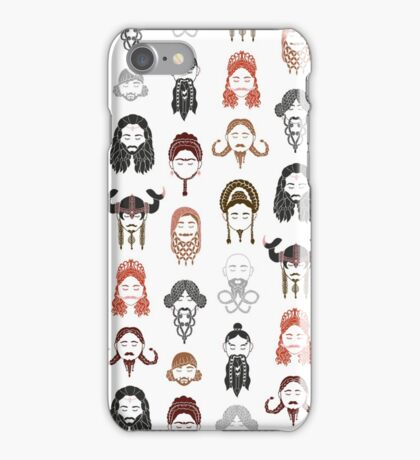 The Unwritten Lady Dwarves of Middle Earth iPhone Case/Skin