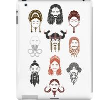 The Unwritten Lady Dwarves of Middle Earth iPad Case/Skin