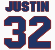 National football player Justin Hamilton jersey 32 by imsport