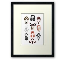 The Unwritten Lady Dwarves of Middle Earth Framed Print