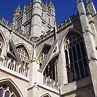 Bath Cathedral by CherylBee
