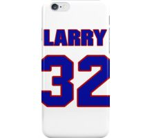 National football player Larry Moriarty jersey 32 iPhone Case/Skin