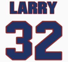 National football player Larry Moriarty jersey 32 by imsport