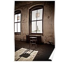 Ellis Island New York: Liberty Awaits Poster