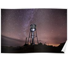 Milky Way over Ruby Hill Poster
