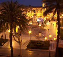 Plaza Nueva in Seville, Spain by CherylBee