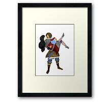 Korra and Asami Framed Print