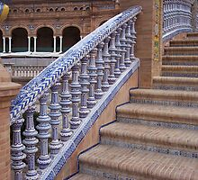 Stairway of the Plaza de Espana by CherylBee
