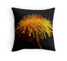 beauty in a weed ... Throw Pillow