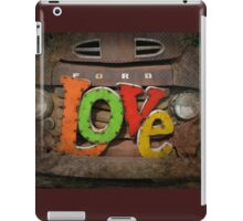 Love and a Ford Truck iPad Case/Skin