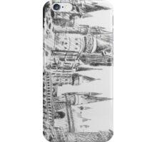 hogwarts castle iPhone Case/Skin