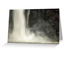 Iguazu Falls - The Power of Nature Greeting Card