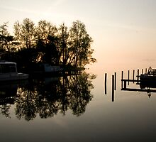 River front, North Holland by Suraj Mathew