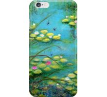 Fairy Tale Water Lilies Pond iPhone Case/Skin