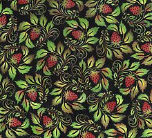 strawberries by VioDeSign