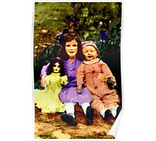 Baby and Her Dolls Poster