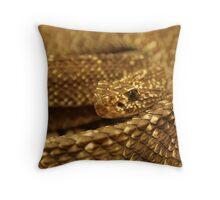 Sioux Snake Throw Pillow
