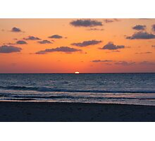 Cuban Sunset (Cuba) Photographic Print