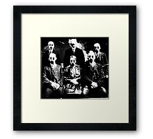 The Haunted Family Framed Print