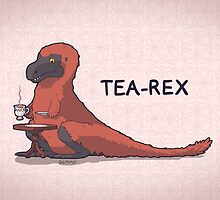 Fluffy Tea-Rex by Demmy