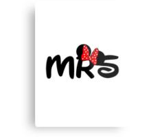 Mrs.Mouse Metal Print