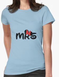 Mrs.Mouse Womens Fitted T-Shirt