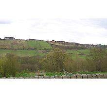 Hillside view Photographic Print