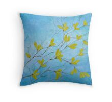First Signs of Spring Throw Pillow