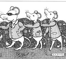 Three Blind Mice by Anita Inverarity