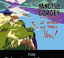 Yangtsze Gorges by Vintagee