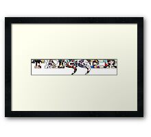 Trigger: The Savior of Anime  Framed Print