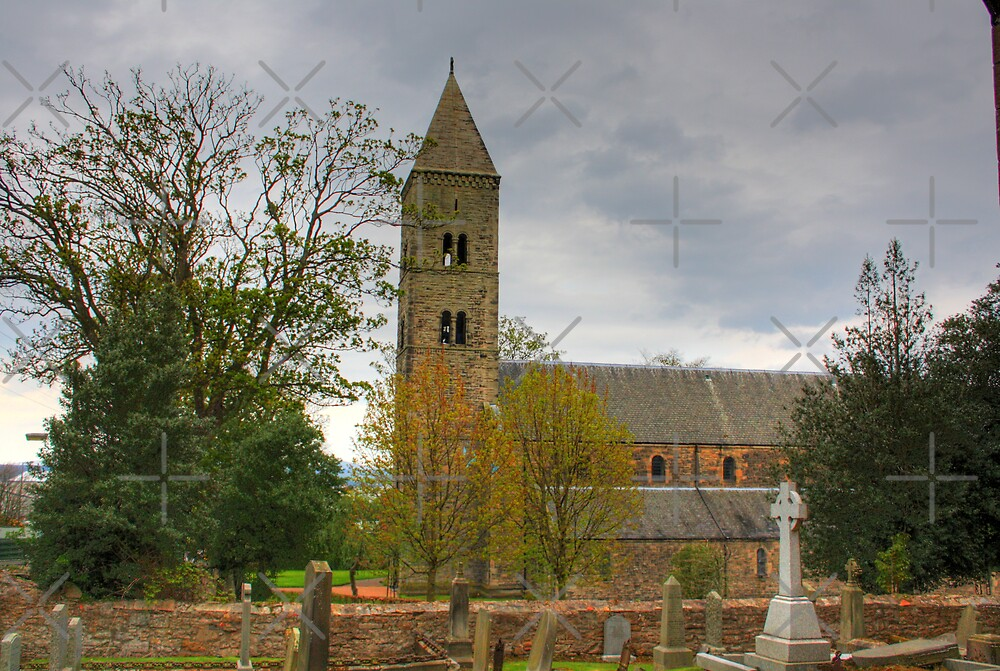 Carriden Church Tower by Tom Gomez