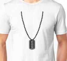 Dog Tag Unisex T-Shirt