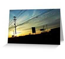 Traffic II Greeting Card