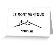 Mont Ventoux Cycling Road Sign Shirt Greeting Card
