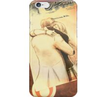 Clara and The Doctor [A Sketch] iPhone Case/Skin