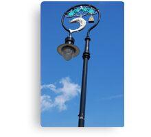 Glasgow Street Lamp Canvas Print