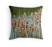 Reeds Throw Pillow