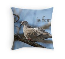 D is for . . .  Throw Pillow